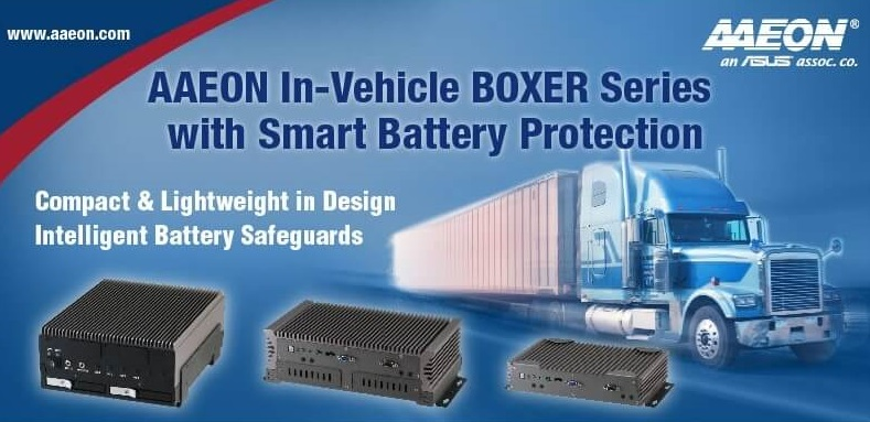 AAEON In-Vehicle Boxer Series With Smart Battery Protection